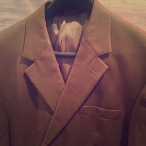 JOS. A BANK tan wool suit jacket